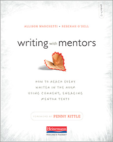 Writing with Mentors cover