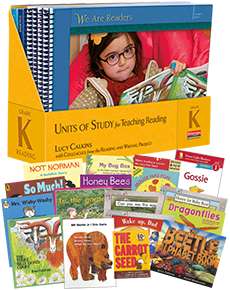 Units of Study for Teaching Reading, Grade K w/ Trade Pack