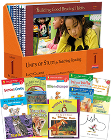 Units of Study for Teaching Reading, Grade 1 w/ Trade Pack cover