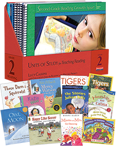 units of study for teaching reading grade 2 w trade pack by lucy