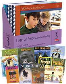 Units of Study for Teaching Reading, Grade 3 w/ Trade Pack cover