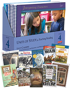 Units of Study for Teaching Reading, Grade 4 w/ Trade Pack cover
