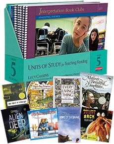 Units of Study for Teaching Reading, Grade 5 w/ Trade Pack cover