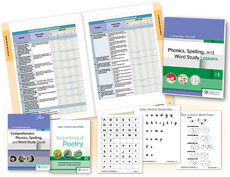 Phonics, Spelling, and Word Study System, for Grade 1 cover