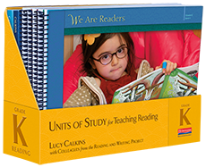 Units of Study for Teaching Reading, Grade K cover