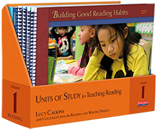 Units of Study for Teaching Reading, Grade 1 cover