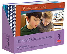 Units of Study for Teaching Reading, Grade 3 cover