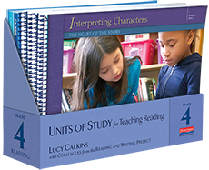 Units of Study for Teaching Reading, Grade 4 cover