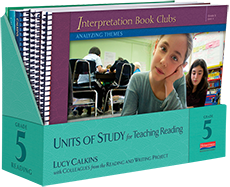 Units of Study for Teaching Reading, Grade 5 cover