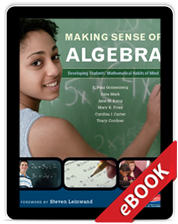 Learn more aboutMaking Sense of Algebra (eBook)