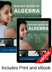 Learn more aboutMaking Sense of Algebra (Print eBook Bundle)