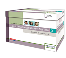Benchmark Assessment System 2, 2nd Edition, Grades 3-8, Levels L-Z