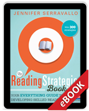 The Reading Strategies Book (eBook) cover
