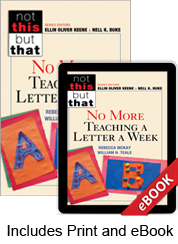 No More Teaching a Letter a Week (Print eBook Bundle)