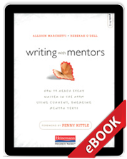 Learn more aboutWriting with Mentors (eBook)