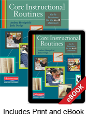 Learn more aboutCore Instructional Routines (Print eBook Bundle)