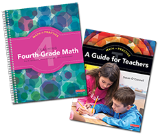 Math in Practice Grade 4 Pack cover