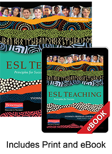 Learn more aboutESL Teaching, Revised Edition (Print eBook Bundle)