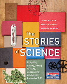 The Stories of Science cover