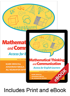 Learn more aboutMathematical Thinking and Communication (Print eBook Bundle)