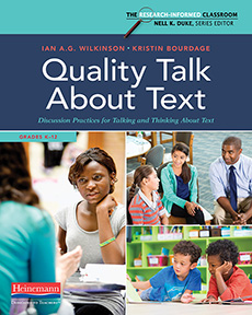 Quality Talk About Text by Ian A.G. Wilkinson and Kristin Bourdage