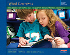 Word Detectives: Strategies for Using High-Frequency Words and for Decoding, Grade 1 cover