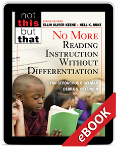 Learn more aboutNo More Reading Instruction Without Differentiation (eBook)