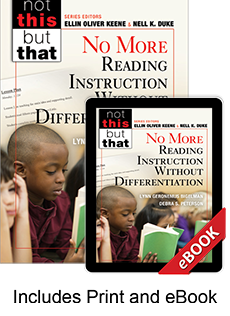 No More Reading Instruction Without Differentiation (Print eBook Bundle)