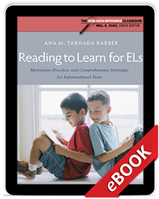 Learn more aboutReading to Learn for ELs (eBook)