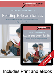 Learn more aboutReading to Learn for ELs (Print eBook Bundle)