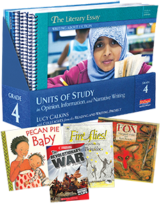 Units of Study in Opinion, Information, and Narrative Writing, Grade 4 with Trade Book Pack