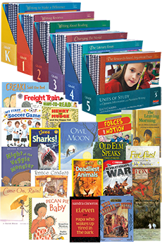 Units of Study in Opinion, Information, and Narrative Writing Elementary Series Bundle Grades K-5 with Trade Book Packs