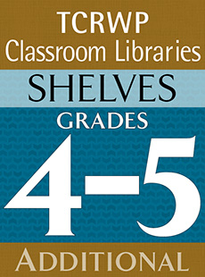 Historical Fiction Book Clubs Shelf, Grades 4-5