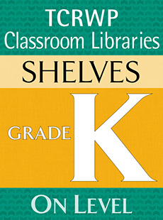 Emergent Storybooks Shelf, Kindergarten cover