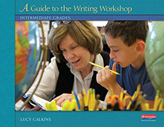 A Guide to the Writing Workshop: Intermediate Grades cover
