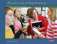 A Guide to the Writing Workshop: Middle School cover