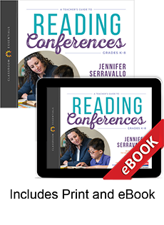 Learn more aboutA Teacher's Guide to Reading Conferences (Print eBook Bundle)