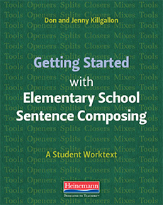 Getting Started with Elementary School Sentence Composing