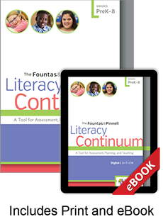 The Fountas & Pinnell Literacy Continuum, Expanded Edition (Print eBook Bundle)