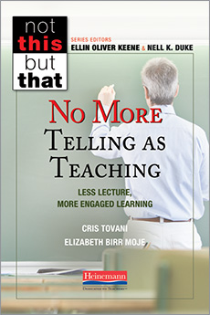 No More Telling as Teaching
