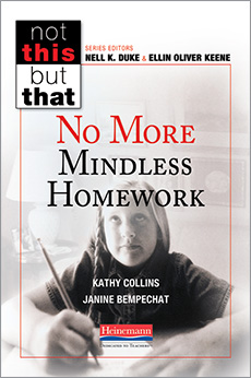 No More Mindless Homework cover