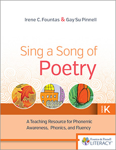 Sing a Song of Poetry, Grade K, Revised Edition cover