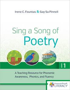 Sing a Song of Poetry, Grade 1, Revised Edition cover