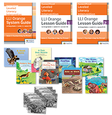 Fountas & Pinnell Leveled Literacy Intervention (LLI) Orange System, Second Edition, Teacher Resources with Booster Pack