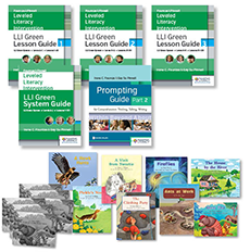 Fountas & Pinnell Leveled Literacy Intervention (LLI) Green System, Second Edition, Teacher Resources with Booster Pack