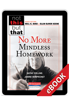 No More Mindless Homework (eBook) cover