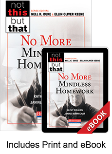 Learn more aboutNo More Mindless Homework (Print eBook Bundle)
