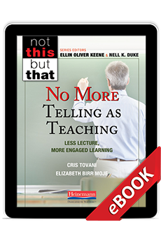 Learn more aboutNo More Telling as Teaching (eBook)