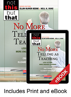 No More Telling as Teaching (Print eBook Bundle) cover