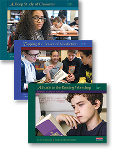 Units of Study for Teaching Reading: Middle School Grades, Introductory Bundle cover